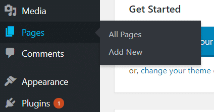 WordPress Classic Editor Add New Page