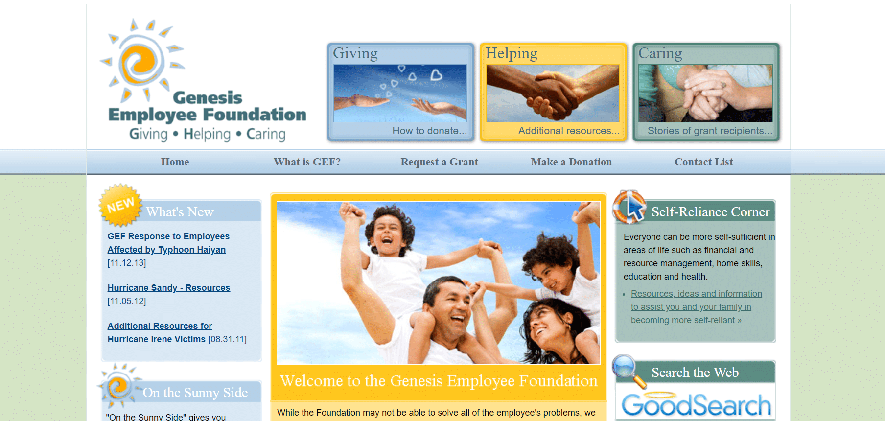 Genesis employee foundation