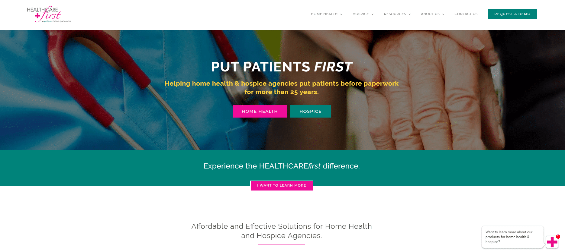 Healthcare first