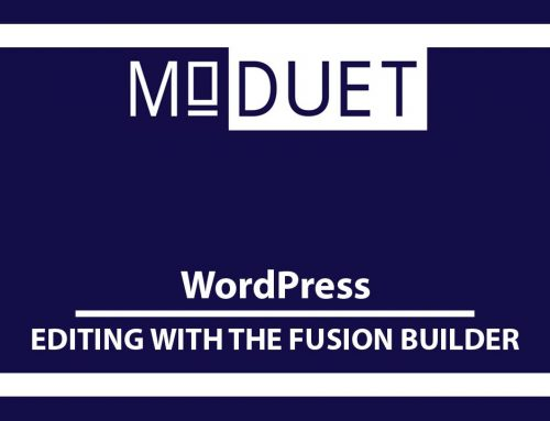 How to create a page or post using Fusion Builder